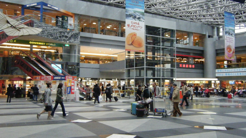 New Chitose Airport inside