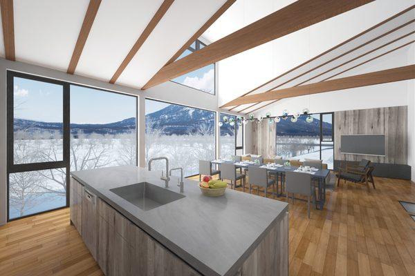 Panorama TH Kitchen