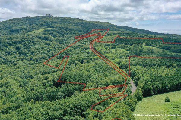 Toya 53 Hectare Development Site Aerial map Boundary line 20210805 web 05